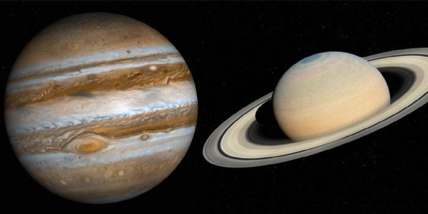 Astronomical Wonder In Centuries: The Conjunction of Gas Giants