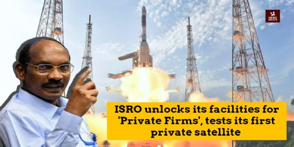 In a first of ISRO's history, it tests its first private satellite