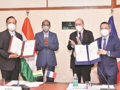 France, India to jointly work on India's Gaganyaan mission
