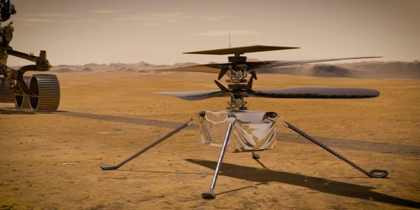 THEY FINALLY DID IT! NASA takes its first historic flight on Mars