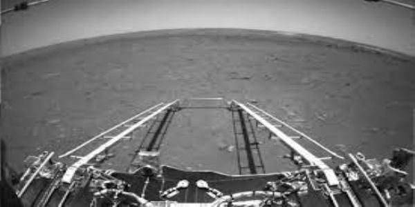 China releases first image, video of mars from Zhurong rover