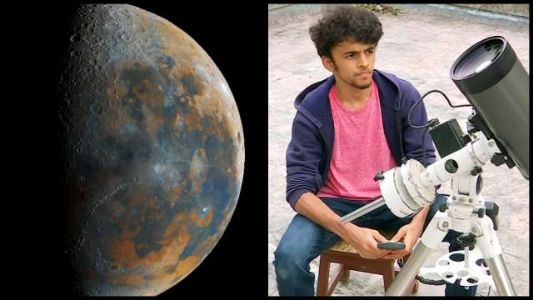 Age is just a number! 16-year-old boy snaps clearest, most detailed photos of moon