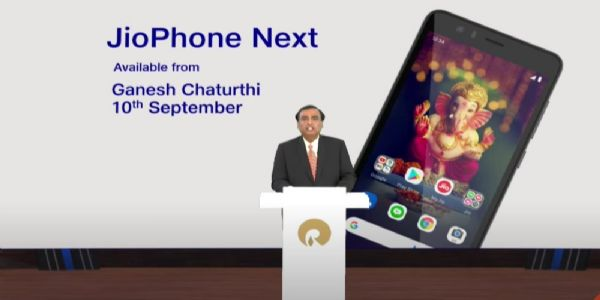 Mukesh Ambani unveils 'Most affordable' 4G smartphone